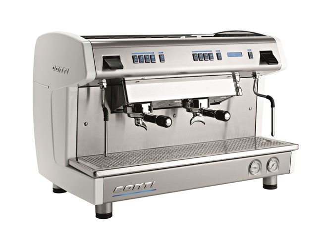 Conti X-one 2 groeps espressomachine wit