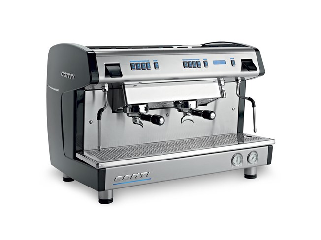 Conti X-one 2 groeps espressomachine zwart