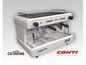 Conti CC200 D 2 groeps wit + display